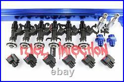 RB25DET Top Feed Fuel Rail kit with 550cc BOSCH Fuel Injectors Skyline Stagea BL