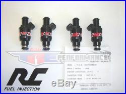 RC 440cc Fuel Injectors fit Audi A4 S4 TT Bosch Turbo 42 lb/hr 450 cc/min NEW