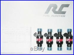 RC Fuel Injectors Audi S4 A4 TT 1.8T BOSCH 440cc 42LB High Resistance Qty 4