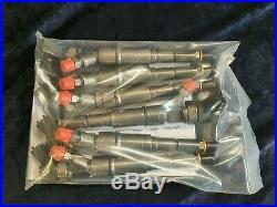 Recondition Set Of 6 Bmw X5 Range Rover 3.0 Td Bosch Diesel Injectors 0445110047
