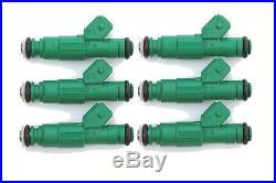 SALE (6) 0280155968 Bosch GREEN GIANT 450cc 42lb Fuel Injectors NEW $344.99