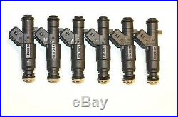 SALE (6) 24 lbs 4-hole Nozzle BOSCH Fuel Injectors JEEP STROKER 4.0 4.6 4.7 NEW