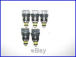 SET of 5 BRAND NEW BOSCH UPGRADE Fuel Injectors, 1993-96 VW EUROVAN, 0280155604