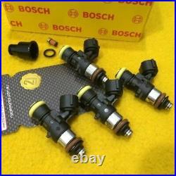 Set 2200 cc BOSCH WRX LIBERTY 2.0 + 2.5 L NA EJ201 EJ251 Fuel injectors