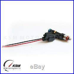 Set 4 1200cc fuel injector for MITSUBISHI EVO X 4B11T BOSCH style EV14 Evolution