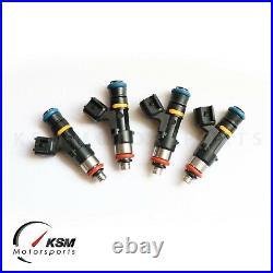Set 4 550cc fuel injectors for MITSUBISHI EVO X 4B11T Fit BOSCH EV14 Evolution