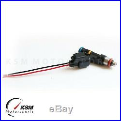 Set 5 750cc fuel injectors for FORD FOCUS MK2 2.5T RS ST FIT BOSCH EV14 E85 70lb
