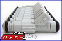 Set Of 8 Bosch 36lb/380cc Fuel Injectors For Hsv Ls1 5.7l V8