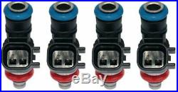 Set of 4 New 1000cc Short EV14K Genuine BOSCH Fuel injectors E85 OK