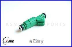 Set of 5 440cc Green Giant Fuel Injectors fit Bosch 42lb Volvo Turbo 0280155968