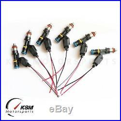Set of 6 x 1200cc fuel injectors for TOYOTA SUPRA 2JZGTE BOSCH EV14 KSM