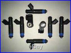 Siemens 80lb/hr Fuel Injectors Fit EV6 USCAR Bosch Mototron V8 LSX 5.0L 850cc 8