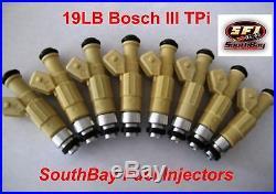 SouthBay Fuel Injectors 19lb Camaro Firebird 305 TPi fuel injectors