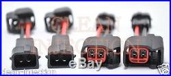 Suzuki Hayabusa GSXR750 GSXR600 GSXR1000 GSX1300F Bosch 850cc fuel Injectors