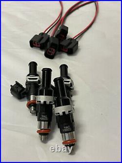 TRC TURBO BOSCH 1000cc FUEL INJECTORS KIT (4) FOR D16 B16 B18 B20 H22 HONDA