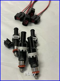 TRC TURBO BOSCH 1000cc FUEL INJECTORS KIT (4) FOR K20 K24 K20A2 ACURA K SERIES