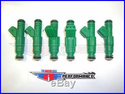 TRE 42lb Flow Matched Fuel Injectors Buick Ford GMC Bosch NEW 440cc 42lb/hr V6 6