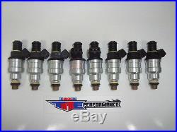 TRE Flowmatched 24LB Fuel Injectors Bosch Chevy Ford V8 LS1 LT1 5.0L EV1 250cc 8