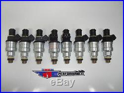 TRE Flowmatched 550cc Fuel Injectors Bosch Chevy Ford V8 LS1 LT1 5.0L EV1 52LB 8