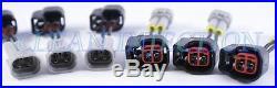 Toyota Soarer Chaser Supra 1JZGTE 1JZ BLK Turbo bosch 1000cc Fuel Rail Injectors