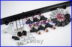 Toyota Supra 2JZGTE 2jz-gte bosch ev14 1000cc fuel injectors black rail vvti