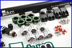 Toyota Supra MKIV 2JZGTE 2200cc Bosch ev14 fuel injectors RADIUM