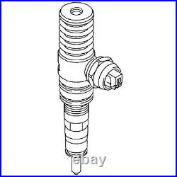 VW (04-06 BEW) Fuel Injector Seal Kit (x4) BOSCH injection nozzle sealing